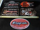 5 Vintage? Snap-on Tool Stickers