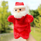 AD92 Santa Claus Hand Puppet Glove Toys Role Play Children Christmas Gift Red