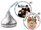 Внешний вид - BEATLES BIRTHDAY PARTY FAVORS HERSHEY KISS KISSES LABELS