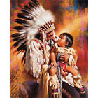 New 5D round drill Diamond Painting Full Drill Diamond the American Indian