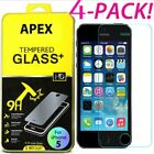 1/4Pcs Premium Real Screen Protector Tempered Glass Film For Phone 6 6s 7 Plus M