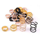 25Pcs Lot Hair Braid Ring Dreadlocks Beads Cuff Clips For DI