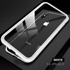 Magneto Magnetic Adsorption PC Case for iPhone X iphone 7 8 Case Luxury cover