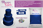 Massa Taffeta Fondant Sugar paste Ready to Rolled Icing Cake Craft | Royal Blue