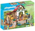 Country Themed Pony Farm Toy Playset by Playmoil - Barn, Horses, Gift, 194 pcs