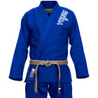 VENUM CONTENDER BRAZILIAN JIU JITSU BJJ GI - BLUE | SINGLE WEAVE LIGHTWEIGHT