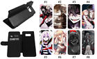 Angels of Death Phone Case Galaxy S7 S8+ S9 J7 Note8 Leather Wallet Flip Samsung