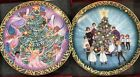 P BUCKLEY MOSS Christmas Collectors Plate Angel Snowman Anna Perenna decorative
