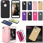 Kids Shock Proof Dual Layer Hybrid Hard Bumper Case For iPho