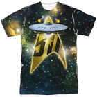 Authentic Star Trek TV Show 50th Anniversary NCC-1701 Front Sublimation T-shirt on eBay