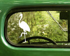 2 FLAMINGO BIRD DECAL Stickers For Car Window Truck Bumper Laptop RV