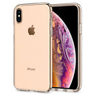 iPhone XS/ XS MAX/ XR Spigen® [Liquid Crystal] Hybrid Slim Shockproof Case Cover