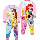 Kids Fleece All in One Boys Girls Character Childrens Pyjamas Age 1-10 Years