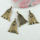 18pcs antiqued brone color ghost design charms EF0836