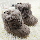 0-18M Newborn Baby Boy Girl Snow Boots Infant Toddler Kids C