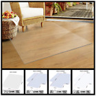HEAVY DUTY PVC OFFICE COMPUTER CHAIR DESK CARPET/HARD WOOD FLOOR PROTECTOR MAT