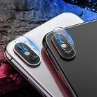 2Pcs For iPhone XR XS Max Back Camera Lens Screen Tempered Glass Protector