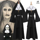 Halloween The Nun Valak Costume The Conjuring 2 Cosplay Fancy Dress Robe Mask
