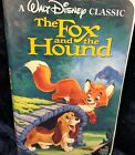 The Fox and the Hound Black Diamond Classic Disney VHS Tape VERY GOOD Animated