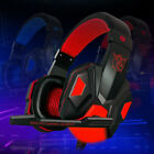 Surround Stereo Gaming Headset Headphone Eeaphone LED USB 3.5mm With Mic For PC