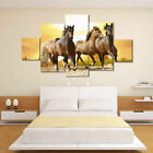 Modern Oil Painting Flying Horse At Sunset Huge Wall Decor On Canvas