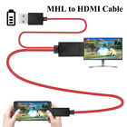 1080P MHL Micro USB to HDMI HD TV Cable Adapter for Samsung Android 11PIN NEW