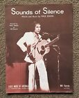 PAUL SIMON - SOUNDS OF SILENCE - VINTAGE AUSTRALIAN SHEET MUSIC