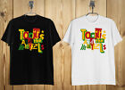 New Toots and The Maytals Reggae Logo Men's T-Shirt Black White S-2XL