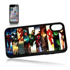 ( For iPhone XS MAX ) Back Case Cover P11438 Batman Superman Hero