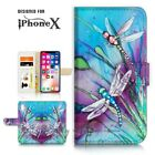 ( For iPhone XS MAX ) Wallet Case Cover P21094 Dragonfly