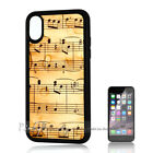 ( For iPhone XS MAX ) Back Case Cover P11174 Music Note