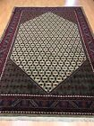 "6'8"" x 9'9"" New Persian Sarab Hamadan Oriental Rug - Hand Made - 100% Wool"