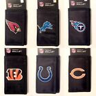 Team Licensed Black Durable Canvas Trifold Tri-Fold Wallet - New $11.95 USD on eBay