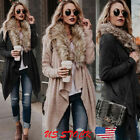 Hot Women's Long Oversized Loose Knitted Sweater Cardigan Ou