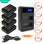 NP-W126 NP-W126S Battery Dual Charger for Fujifilm X-M1 X-A1 X-T1 X-Pro2 WM