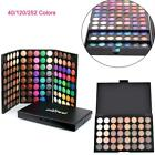 40/120/252 Colors Professional Makeup Eyeshadow Palette Shimmer Matte Highlight