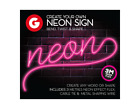 Make Your Own Neon Effect Sign 3M Neon String Light Message Kit Party Birthday