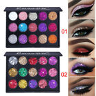Portable Shimmer Glitter Eyeshadow Powder Palette Matte Eyeshadow Cosmetic Makeu