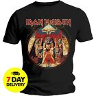 IRON MAIDEN Powerslave Lightning T-shirt Men Cotton Size S to 3XL image