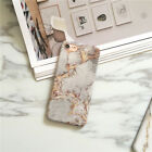 Simple Marble Case Matte Soft TPU Case Full Cover For iPhone 6 7 8 X XR XS MAX