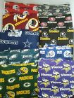 "NFL Zippered Pillow ""COVER""  18"" x 18""  Handmade Throw Toss Football Game Day on eBay"