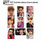 NCT NCT127 3rd Mini Album CHERRY BOMB Official Photocard Jaehyun KPOP K-POP