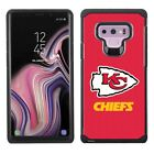 Official NFL Pebble Grain Shockproof Cover Case for Samsung Galaxy NOTE 9
