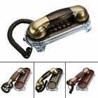 Antique Retro Wall Mounted Telephone Corded Phone Landline Telephone for Home