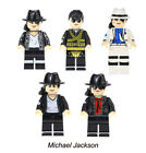 Minifigures Michael Jackson Elvis Aron Presley Grunge Icon Building Blocks Toys