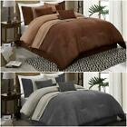 Chezmoi Collection Chandler 7-Piece Western Lodge Micro Suede Comforter Set image