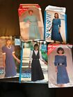 5 See & Sew Patterns Sizes 12-18 CUT