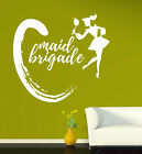 Vinyl Decal Cleaning Company Singboard Girl and Whisk Wall Sticker (n1005)