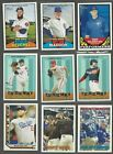 2016 TOPPS HERITAGE INSERTS w/ HIGH SERIES ( RC's, STARS ) ALL LISTED - U PICK!!