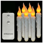 Remote Control Homemory Battery Operated Flameless LED Taper Candles Light e
